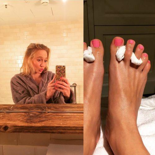 Feet mühe anna maria Nur Fettahoglu